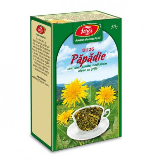 Ceai Papadie - Frunze D126 - 50 gr Fares