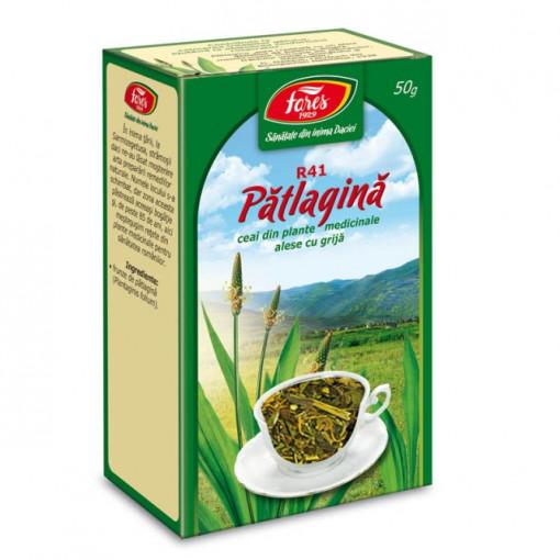 Ceai Patlagina - Frunze R41 - 50 gr Fares