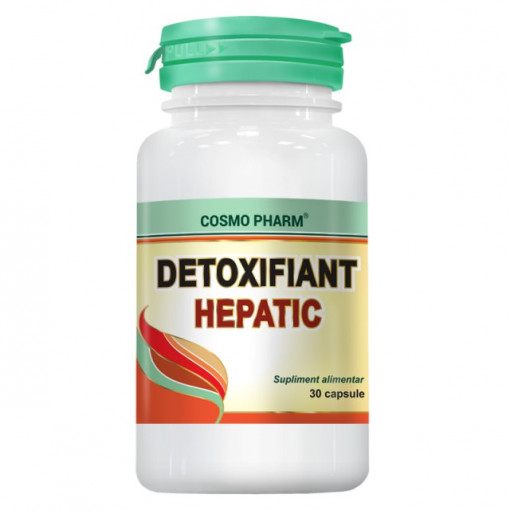 Detoxifiant Hepatic - 30 cps