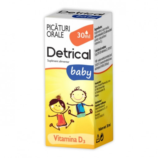 Poze Detrical D3 Baby - 30 ml