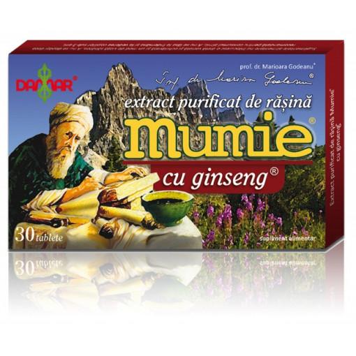 Extract purificat de rasina Mumie cu ginseng - 30 tbl