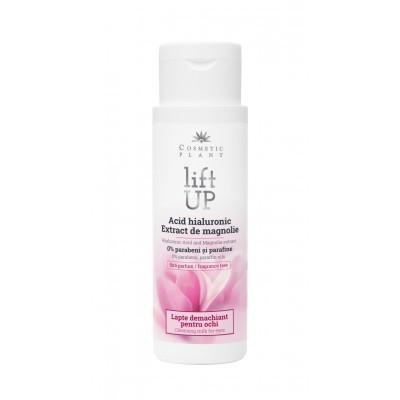 Lift Up - Lapte demachiant pentru ochi cu Acid Hialuronic - 150 ml