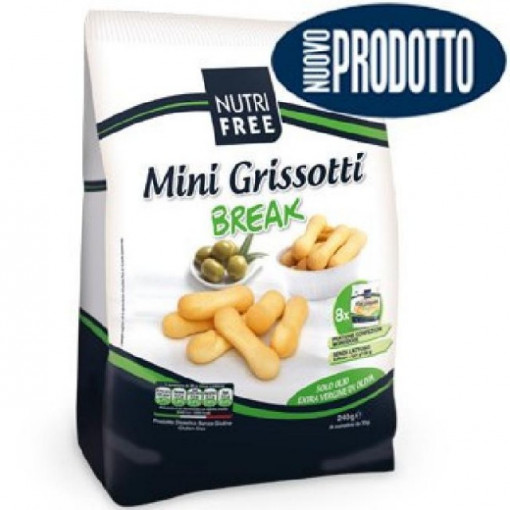Poze Mini Grisotti Break - 240 g (8x30 g) - NutriFree