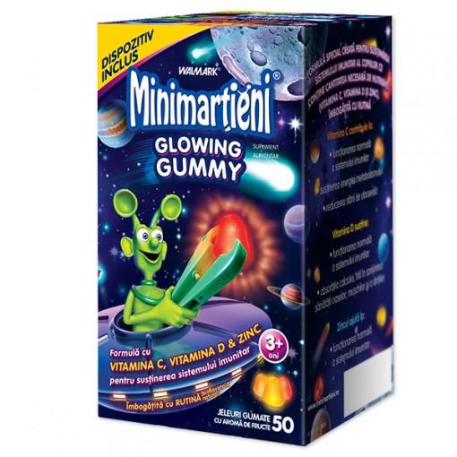 Minimartieni Glowing Gummy - 50 jeleuri