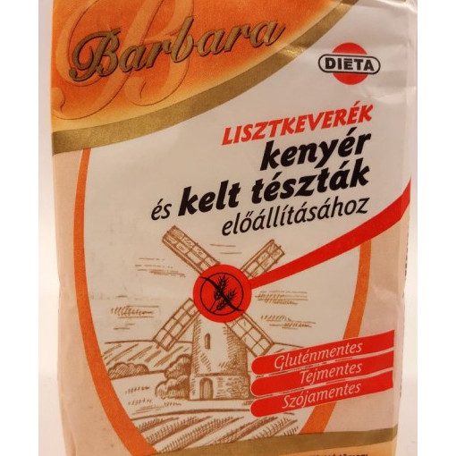 Mix faina pentru paine si produse dospite - 1 kg - Barbara