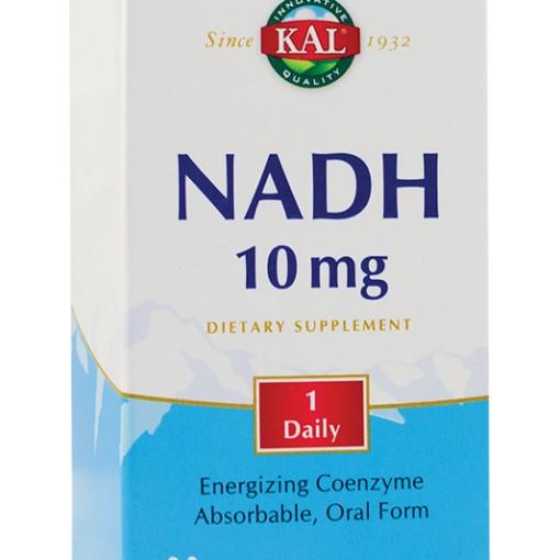 NADH 10mg 30 tablete filmate gastrorezistente (3 blistere cu 10 tablete)