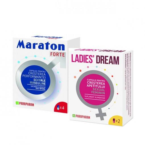 Pachet Maraton Forte 4 cps + Ladies Dream 2 cps