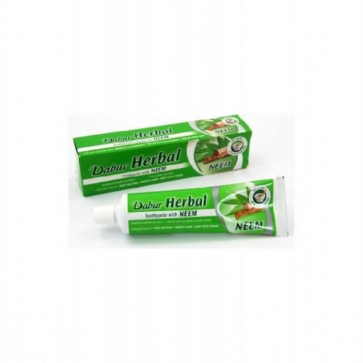 Pasta de dinti cu frunze de neem - 100 ml - Dabur