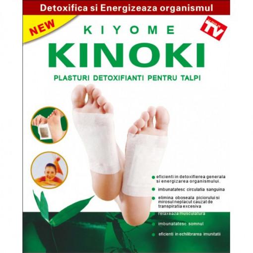 Plasturi Detoxifianti Kinoki 6x8 cm - 10 buc