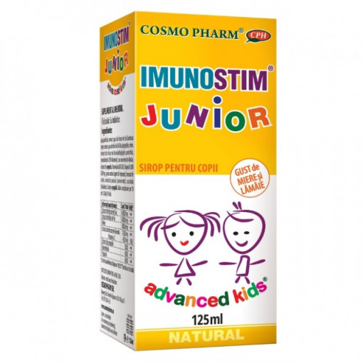Poze Sirop Imunostim Junior - 125 ml