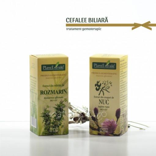 Tratament naturist - Cefalee biliara (pachet)