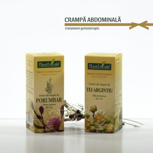 Tratament naturist - Crampa abdominala (pachet)