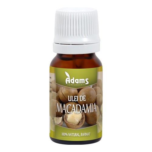 Ulei de macadamia rafinat - 10 ml