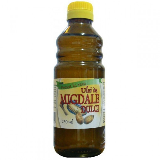 Ulei de Migdale dulci presat la rece - 250 ml