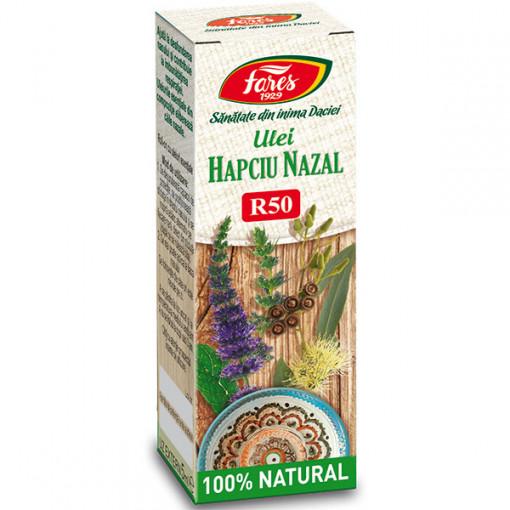 Ulei Hapciu Nazal, R50, decongestionant nazal - 5 ml