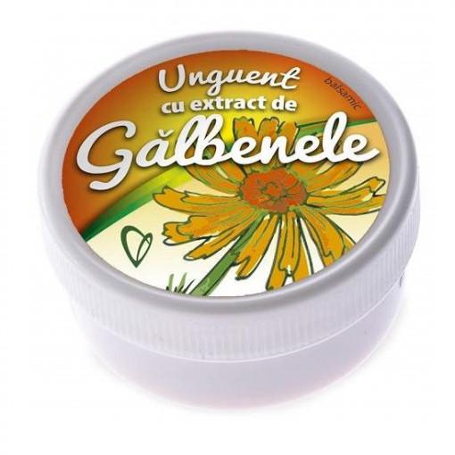 Unguent balsamic cu extract de galbenele - 20 g