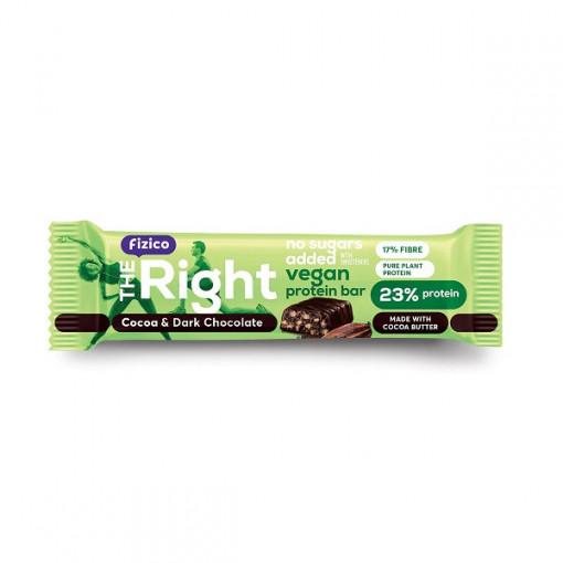 Baton proteic Vegan cu cacao - 40 g