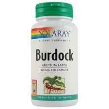 Burdock (Brusture) 425mg - 100 capsule vegetale