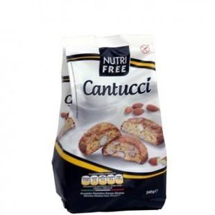 Cantucci Biscuiti cu bucati de migdale - 250 g - NutriFree