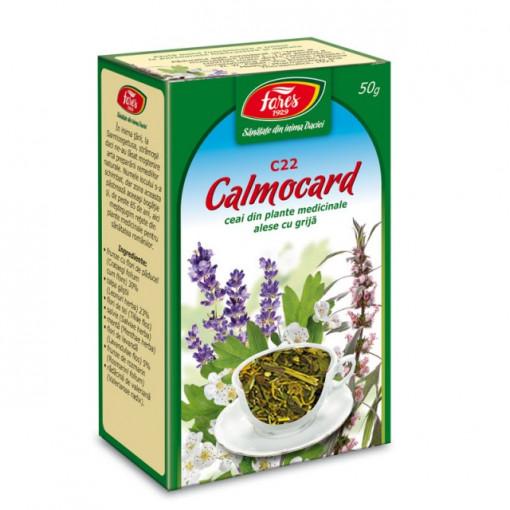 Ceai Calmocard C22 - 50 gr Fares