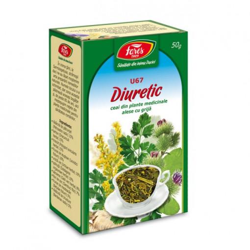 Ceai Diuretic U67 - 50 gr Fares