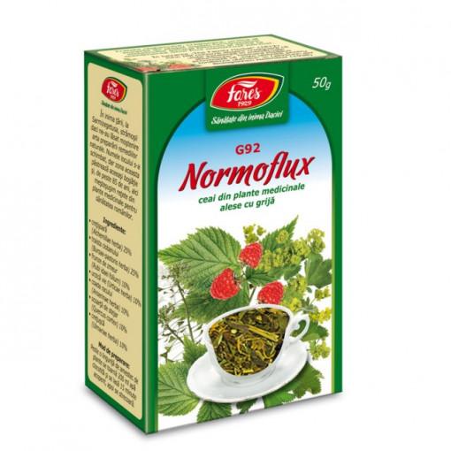 Ceai Normoflux G92 - 50 gr Fares