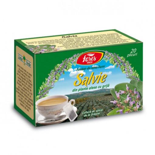 Ceai Salvie - 20 pl Fares