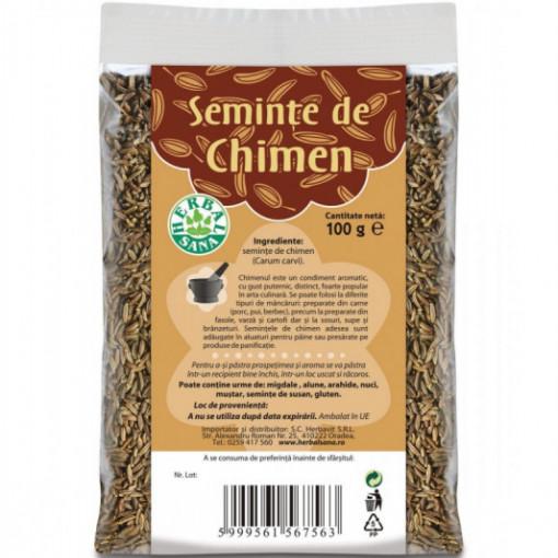 Chimen seminte - 100 g Herbavit