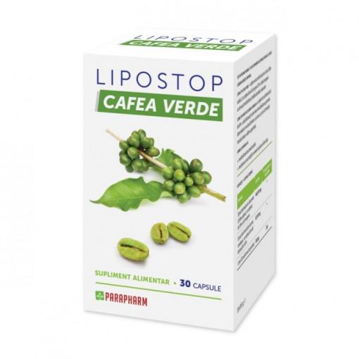 Lipostop Cafea Verde - 30 cps
