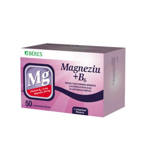 Magneziu cu B6 * Beres x 50 tb