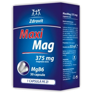 Poze Maximag 375mg - 30 cps