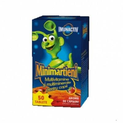 Minimartieni ImunActiv Capsuni - 50 cps