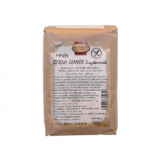 Mix pentru paine neagra - 500 g - Mimen