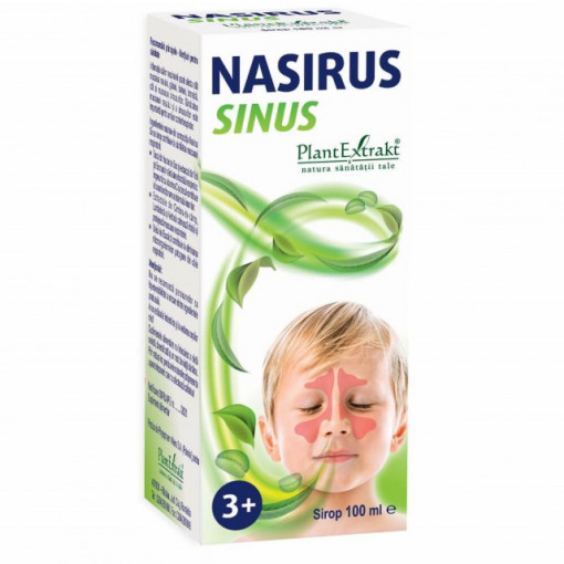Nasirus Sinus - sirop pentru copii - 100 ml