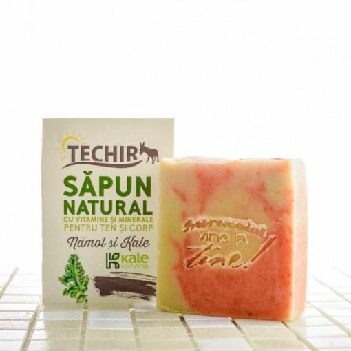 Sapun natural kale si namol - 120 g -Techir