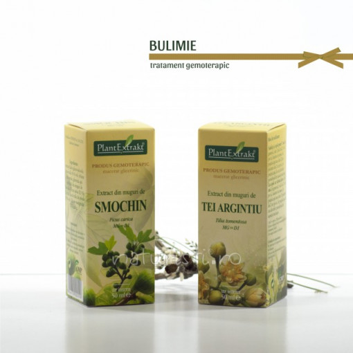 Tratament naturist - Bulimie (pachet)