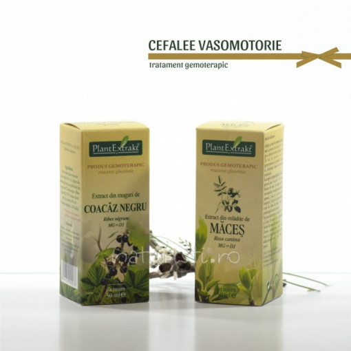 Tratament naturist - Cefalee vasomotorie (pachet)