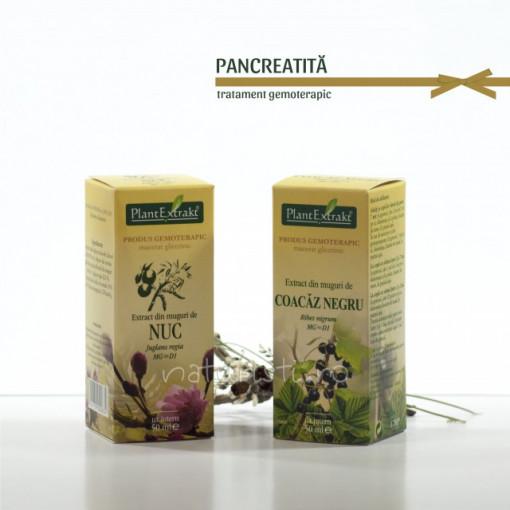Tratament naturist - Pancreatita (pachet)