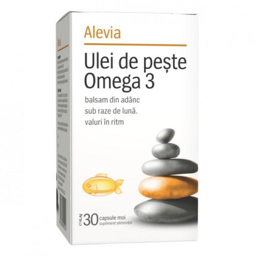 Ulei de peste Omega 3 - 30 cps
