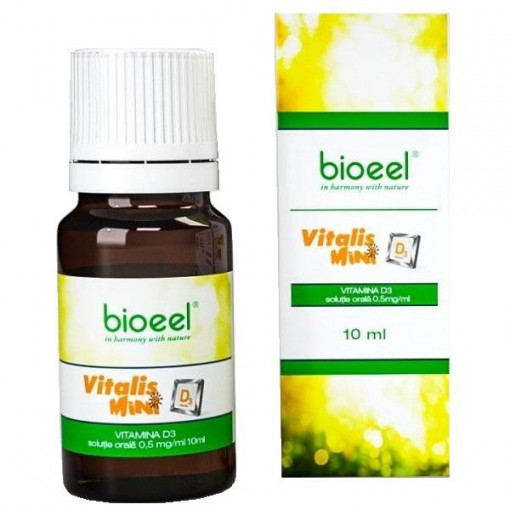 Poze Vitalis Mini D3 - 10 ml Bioeel