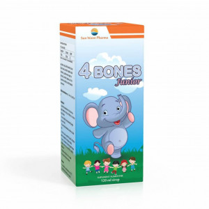 4 Bones Junior, sirop - 120 ml