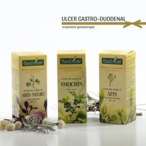 Tratament naturist - Ulcer gastro‑duodenal (pachet)