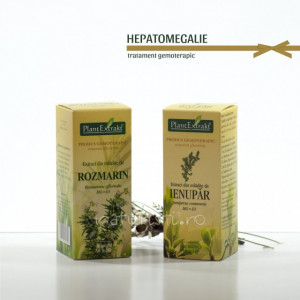 Tratament naturist - Hepatomegalie (pachet)