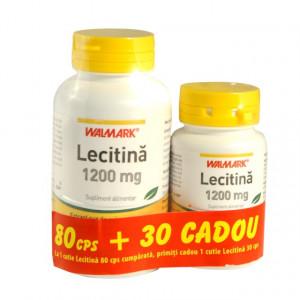 Lecitina 1200 mg - 80 cps + 30 cps Gratis