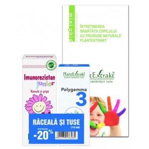 Raceala si tuse copii - Pachet promotional