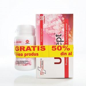Urisept - 50 cps - 1+1-50% Gratis