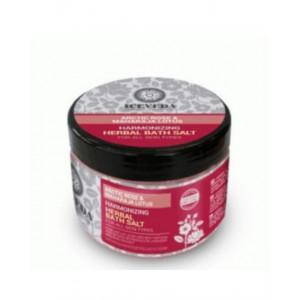 Sare de baie cu Trandafir Arctic si Lotus de Maharaja - 300 ml Iceveda