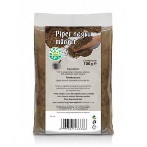 Piper negru macinat- 40 g Herbavit