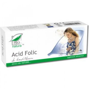 Acid folic - 30 cps