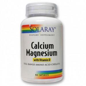 Calcium, Magnesium, Vitamin D - 90 cps